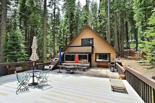 Classic West Shore Cabin by RedAwning
