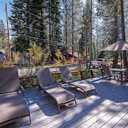 Knotty Pine Cabin in North Lake Tahoe by RedAwning