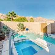 Pool with a View at La Quinta Cove by RedAwning