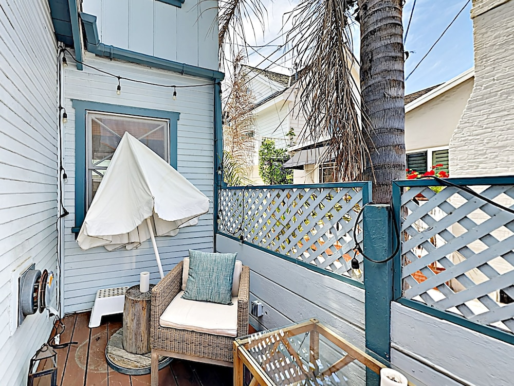 Property Grounds, Vintage Balboa Island Charmer by RedAwning
