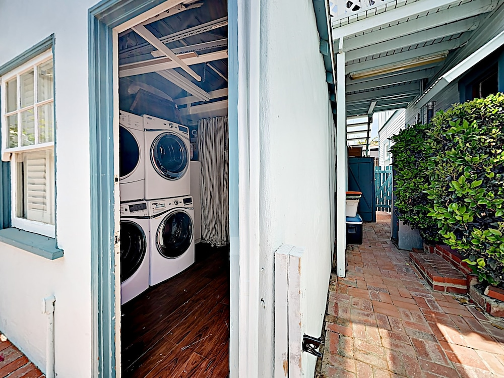 Laundry Room, Vintage Balboa Island Charmer by RedAwning