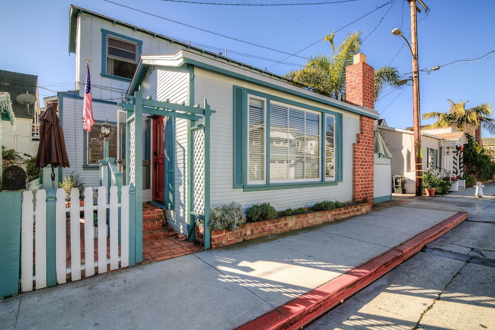 Front of Property, Vintage Balboa Island Charmer by RedAwning