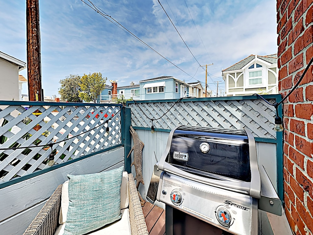 BBQ/Picnic Area, Vintage Balboa Island Charmer by RedAwning