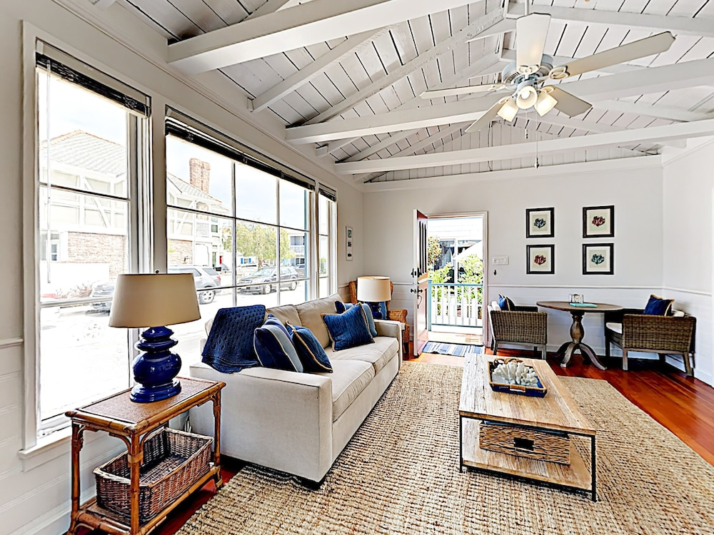 Living Area, Vintage Balboa Island Charmer by RedAwning