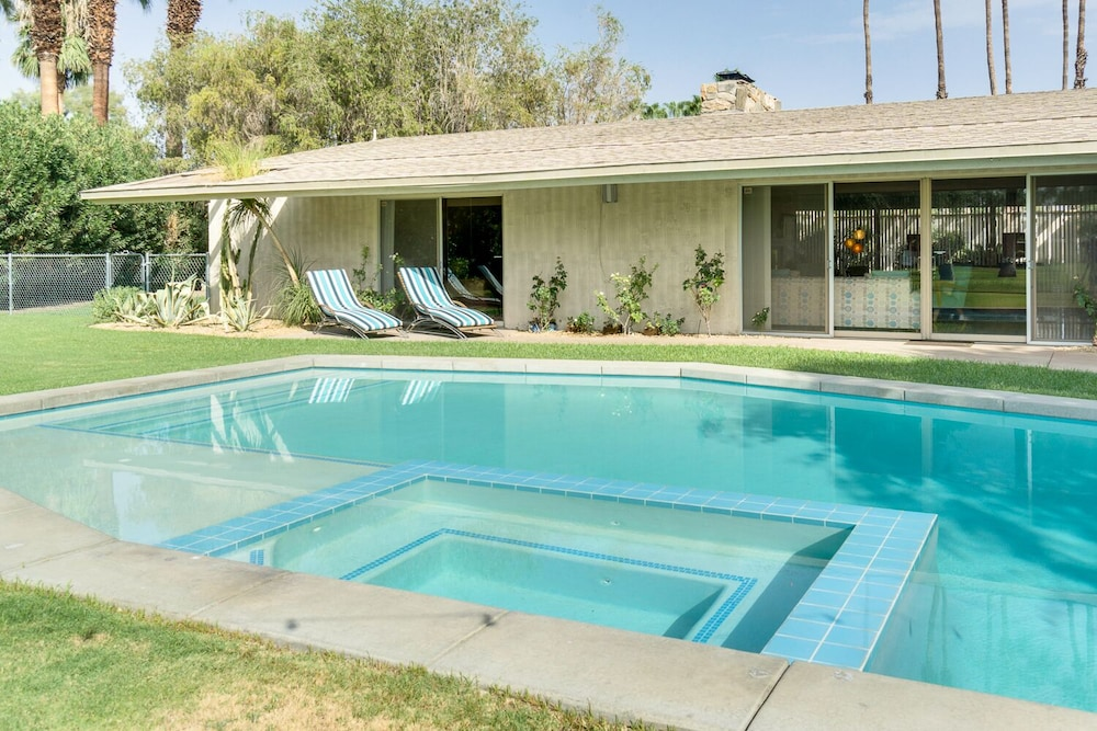 Pool, Time Capsule Rental with Pool and Spa by RedAwning