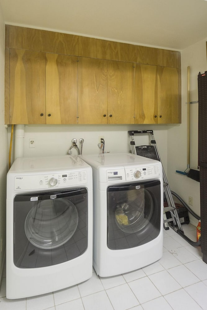 Laundry Room, Time Capsule Rental with Pool and Spa by RedAwning