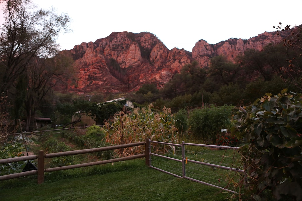 View from Property, Orchard Canyon on Oak Creek