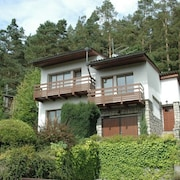 Lovely Holiday Home With Sunny Garden and Private Pool Near Jevany Lake