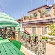 Apartment in Rome With Terrace, Air Conditioning