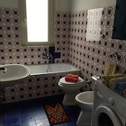 Apartment in Ostia With Lift, Washing Machine
