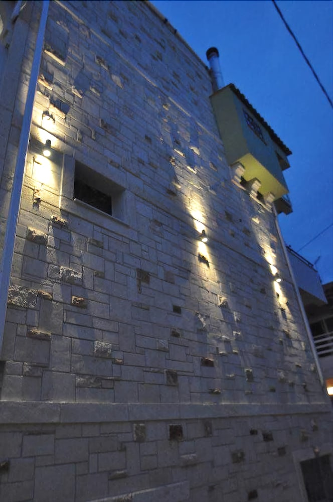 Front of Property - Evening/Night, Alkionides Boutique Apartments