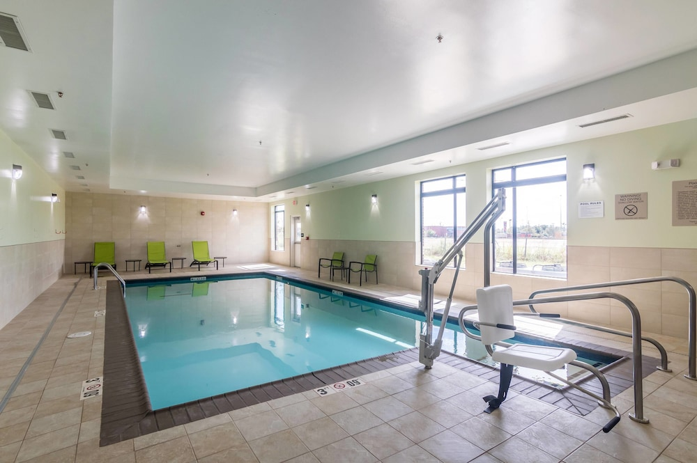 Indoor Pool, SpringHill Suites by Marriott Oklahoma City Downtown