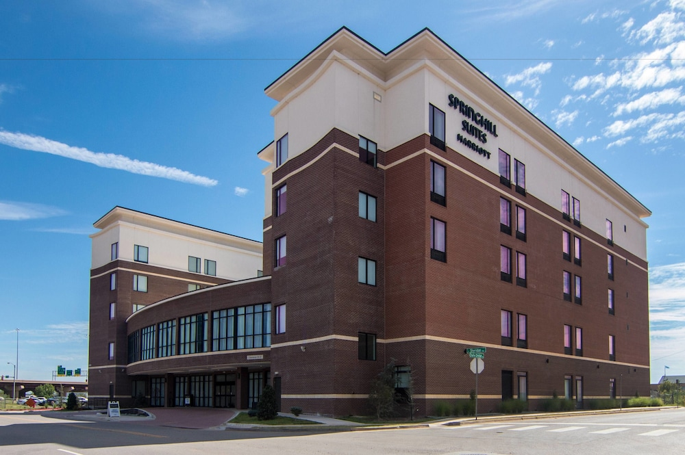 Property Entrance, SpringHill Suites by Marriott Oklahoma City Downtown