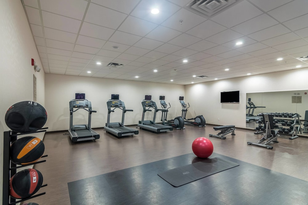 Fitness Facility, SpringHill Suites by Marriott Oklahoma City Downtown