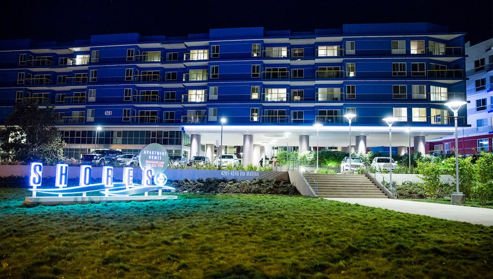 Front of Property - Evening/Night, Global Luxury Suites at Marina Del Rey