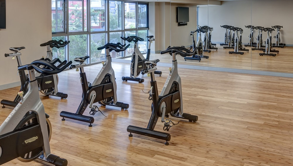 Gym, Global Luxury Suites at Marina Del Rey