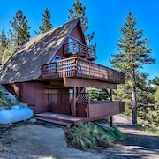Spectacular Lake and Mountain View Zephyr Cove Cabin by RedAwning