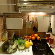 Kitchenette in kamer