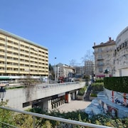 Apartment in Lyon With Terrace, Lift, Parking, Washing Machine