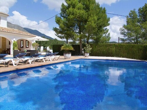 Restored Country House With Private Swimming Pool in Calpe