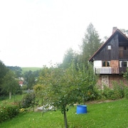 Detached Home With Beautiful View in Zlata Olesnice, Edge of the Krkonoše