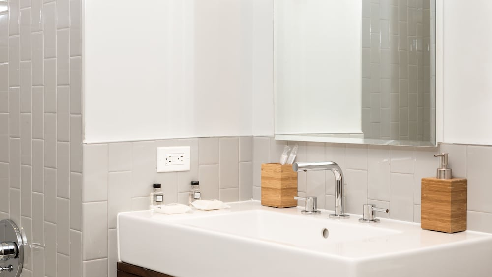 Bathroom Sink, Capitol Hill Fully Furnished Apartments, Sleeps 5-6 Guests