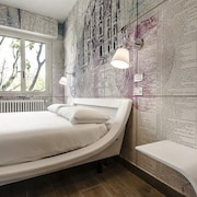 Bedroom in Milan With Air Conditioning, Lift