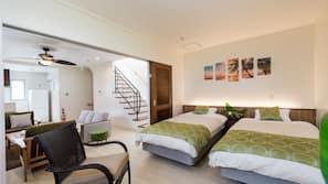 3 bedrooms, desk, blackout drapes, free WiFi