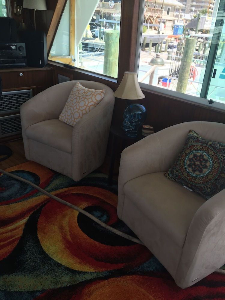 Interior Detail, Classic Yacht Rentals at FloraBama