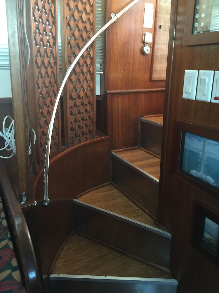 Staircase, Classic Yacht Rentals at FloraBama