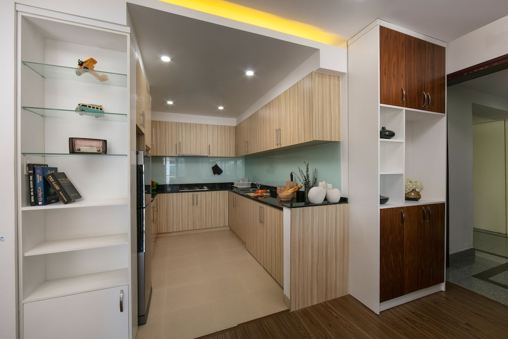 Private Kitchen, Poonsa Serviced Apartment