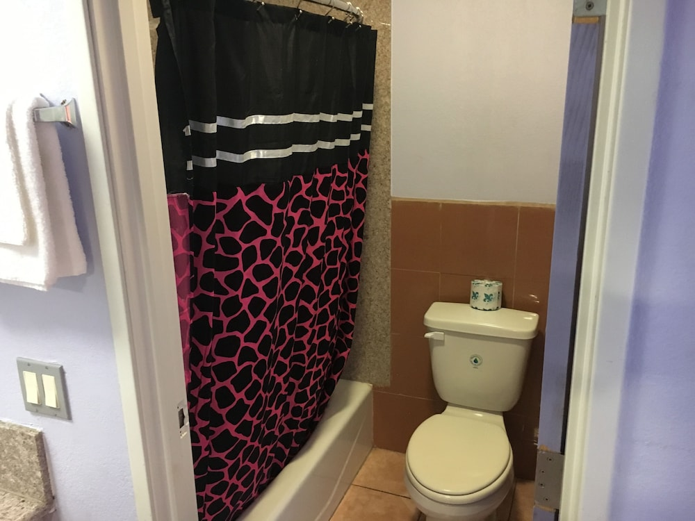 Bathroom, Budget Motel