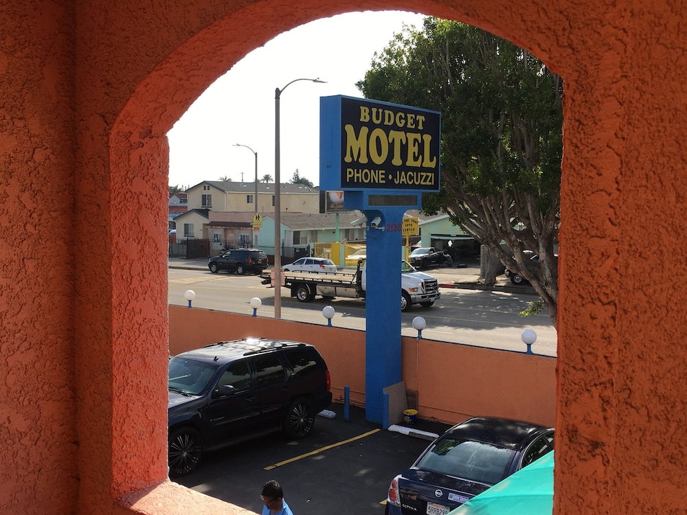 View from Property, Budget Motel