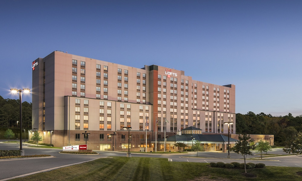 Front of Property, Live! Lofts - Hotel & Suites - Baltimore Washington Airport - BWI