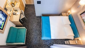 Zimmersafe, Schreibtisch, schallisolierte Zimmer, Zustellbetten