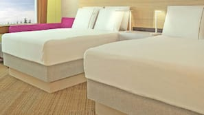 Cots/infant beds, free WiFi, linens, wheelchair access