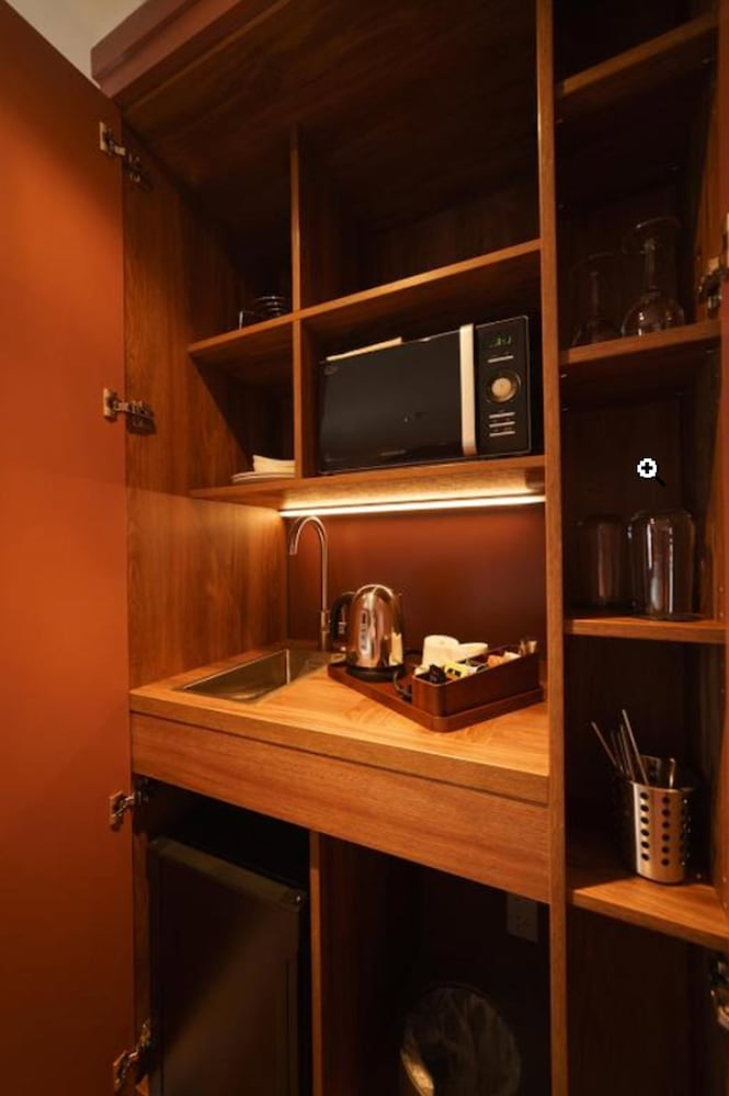 Private Kitchenette, Mimi's Hotel Soho