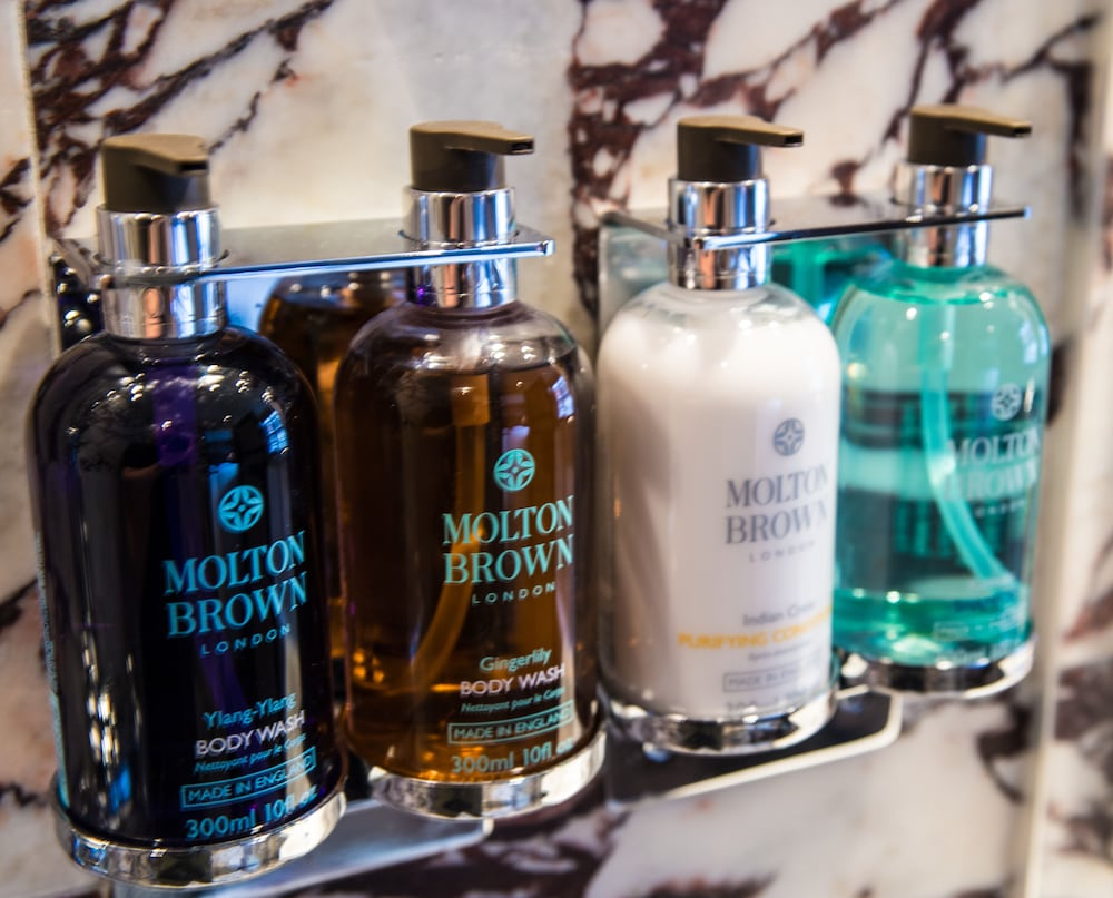Bathroom Amenities, Mimi's Hotel Soho
