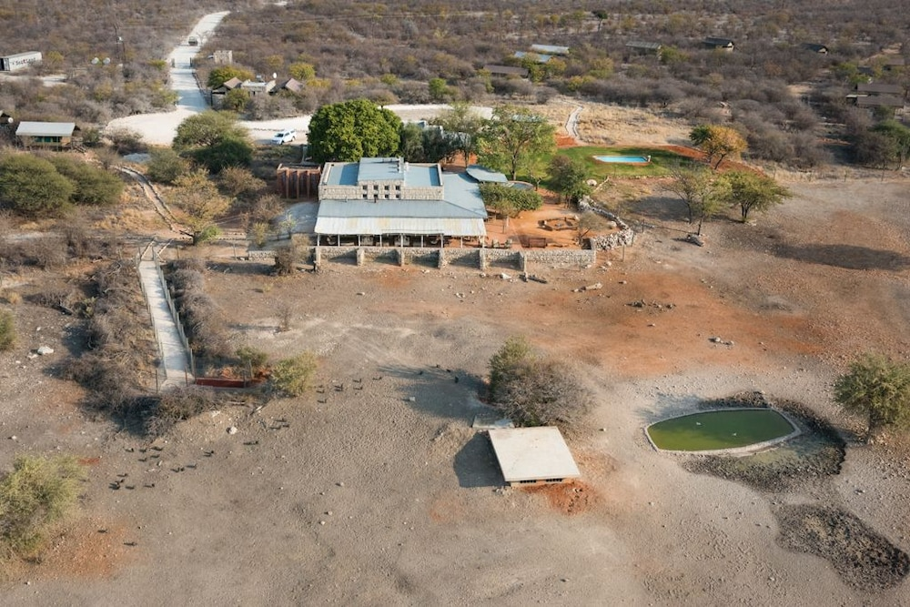 Aerial View, Anderssons Camp