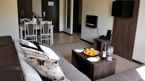 Una televisión