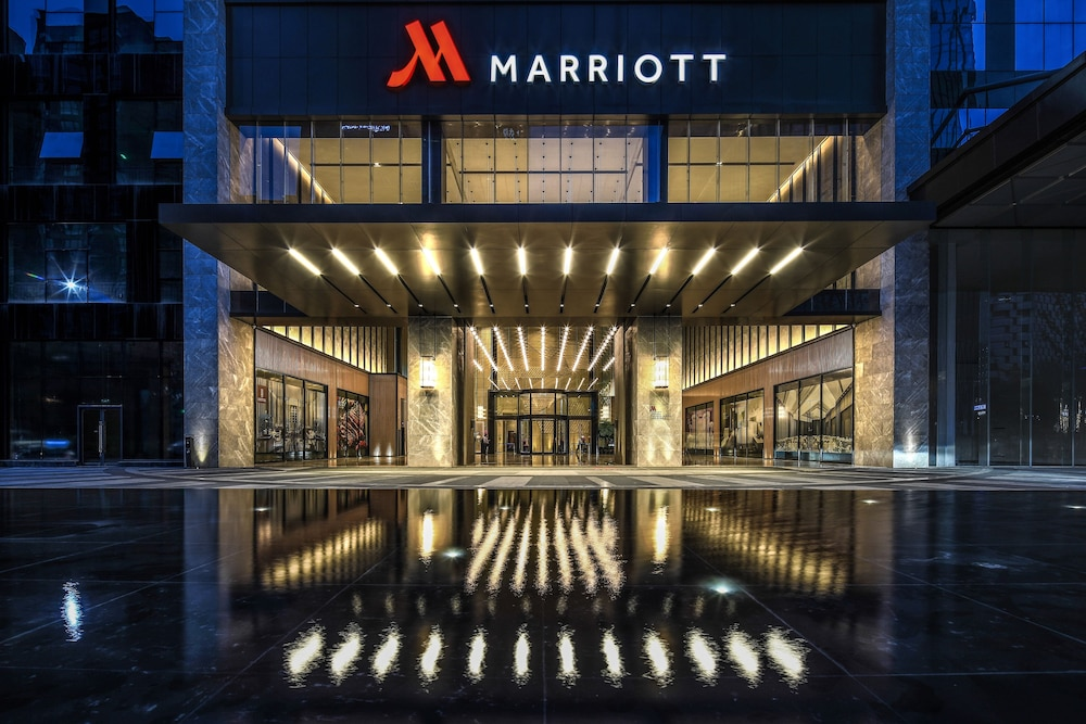 Front of Property - Evening/Night, Chengdu Marriott Hotel Financial Centre