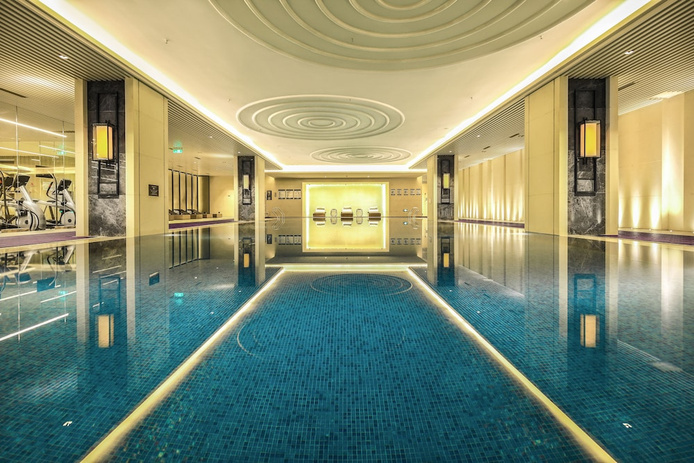 Indoor Pool, Chengdu Marriott Hotel Financial Centre