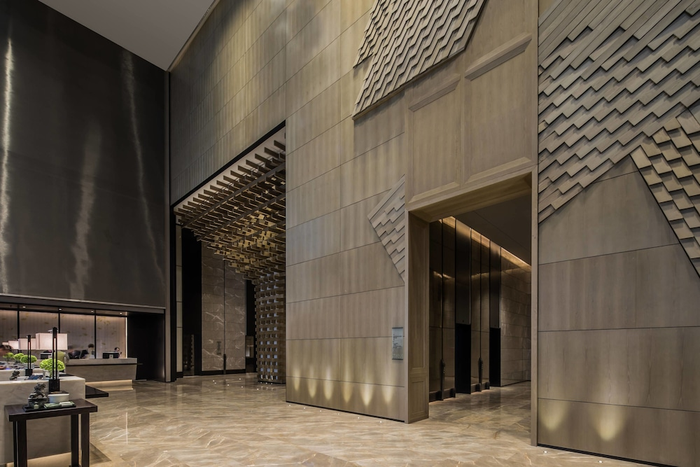 Lobby, Chengdu Marriott Hotel Financial Centre