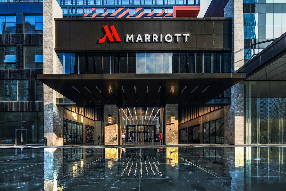 Property Entrance, Chengdu Marriott Hotel Financial Centre