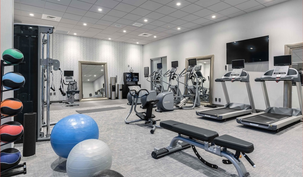 Fitness Facility, Homewood Suites by Hilton Boston Logan Airport Chelsea