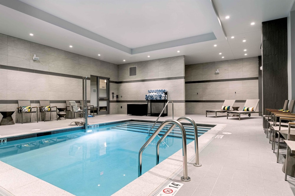 Pool, Homewood Suites by Hilton Boston Logan Airport Chelsea