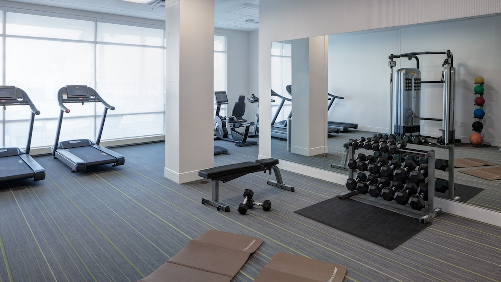 Fitness Facility, Holiday Inn Express & Suites Orlando at SeaWorld, an IHG Hotel