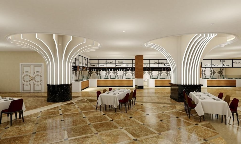 Restaurant, Granada Luxury Resort Okurcalar - All Inclusive