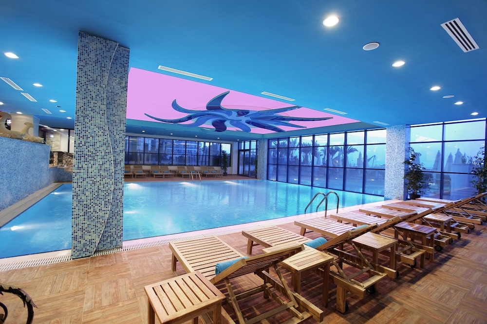 Indoor Pool, Granada Luxury Resort Okurcalar - All Inclusive