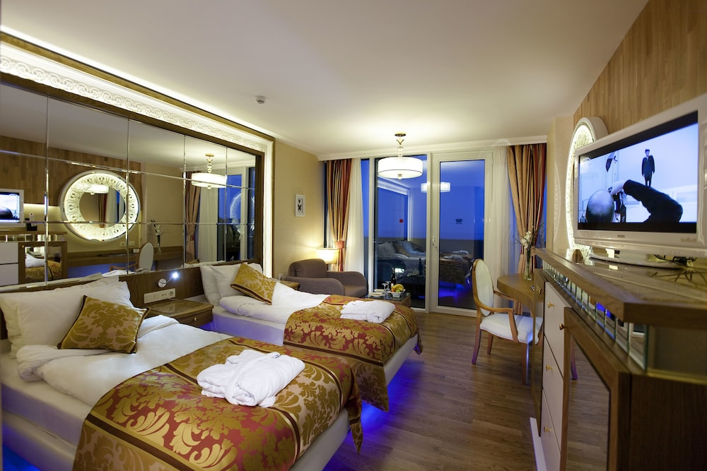 Room, Granada Luxury Resort Okurcalar - All Inclusive